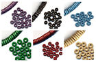 Pack of 100 Greek ceramic 8mm spacer beads - choice of colours