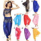 Belly Dance Costume Shinny Bloomer Harem Pants Trouser Bollywood Dancing Costume