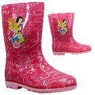 NEW GIRLS DISNEY PRINCESS WINTER SNOW MUCKER WATERPROOF WELLINGTON WELLIES BOOTS