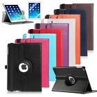 360 Rotating PU Leather Case Cover Stand For Apple iPad Air 5th W/ Film Stylus