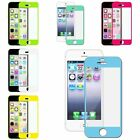 6 X Colorful Front Skin Screen Protector Sticker Film For Apple iPhone 5/5s/5c