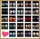 100pcs 4mm Rhinestone Crystal Bicone Spacer Beads AB Color You Choose
