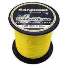 8Strands 100M Yellow Super Strong Dyneema Saratoga Braided Sea Fishing Line