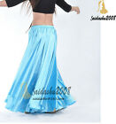 NEW belly dance satin performance skirt kids 3 sizes/5 colors choices on sale