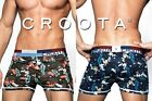 CROOTA DESIGNER Mens Low Rise Underwear Boxer Shorts: All sizes S / M / L / XL