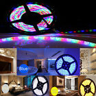 3528 5050 5M White 300 SMD 12V LED Flexible Strip Light Waterproof tape+Adapter