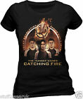 Official The Hunger Games Catching Fire Spark Quote Trio T Shirt  All sizes 46