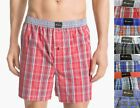 Jockey 2565 Men's Underwear Cotton Plaid Print Coopers Woven Boxer Shorts S-2XL