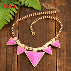 Hot Fashion Beauty Retro Bubble Gem Bib Statement Necklace Chunky Collar Party