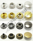 "10sets 1/2"" Cap Line 20 Ring Spring Snap Button Fastener Popper Press Stud V4713"