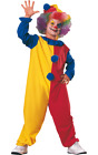Child Clown Kids Circus Carnival Outfit Boys Girls Fancy Dress Costume