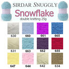 Sirdar Snuggly Snowflake DK Double Knitting 25g Wool Yarn - ALL COLOURS
