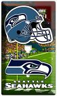 NEW SEATTLE SEAHAWKS NFL SUPER BOWL CHAMPIONS FOOTBALL LIGHT SWITCH OUTLET PLATE