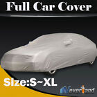 Full Car Cover UV Protection Dust Rain Outdoor Indoor Breathable Size S M L XL