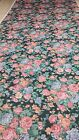 Olivia Floral BEDSPREAD available all sizes - Hunter Green,Pink, Mauve, Red
