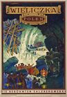 TW56 Vintage Famous Salt Mines Of Poland Polish Travel Poster A1/A2/A3/A4