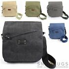 Canvas Shoulder / Messenger / Cross Body Work Travel Bag (5 Colours Available)