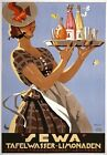 AZ28 Vintage 1920's Sewa Lemonade German Advertisement Poster A1/A2/A3/A4