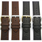 Leather Watch Strap Band Camel Grain XL Extra Long by CONDOR 18mm 20mm 051L
