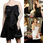 NEW Women Club Evening Party Dress Robe Sexy Bowknot Strapless Tube Dress