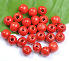 Wholesale 10colour wood round loose beads Jewelry 6MM 8MM 10MM 12MM 14MM U PICK