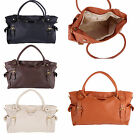 Korean Women  PU Leather Handbag Big Capacity Shoulder Bag Tote Hobo HOT SALE