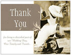 CUSTOM UR PHOTO or AS Shown WEDDING THANK YOU Custom Motorcycle Flat Cards