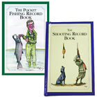 POCKET FISHING HUNTING SHOOTING RECORD BOOKS RECORD YOUR CATCHES AND DAYS OUT