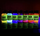 GLOWING Liquid: UV Neon Blacklight Reactive Dye / Paint / Ink / Special Effects!