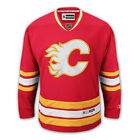 Calgary Flames REEBOK Premier NHL Hockey Third Red Jersey Mens SZ S 2XL