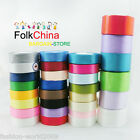 25 Yards 50mm Satin Ribbons Single Sided Sewing Wedding Scrapbooking Many Colors