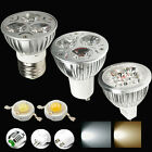 Newly High Power 3W/9W/12W E27/GU10/MR16 Led Spotlight Bulbs Lamp Lights dimmble