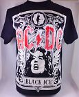 BK AC DC BLACK ICE  ROCK HARDCORE HEAVY METAL PUNK MEN'S T-SHIRT