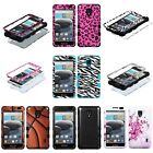 For LG MS500 D500 (Optimus F6) Hybrid Tuff Case Cover many designs