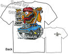 62 Impala Rat Fink T Shirt Big Bad Chevy 1962 Biscayne Ed Roth Tee M L XL 2XL 3X