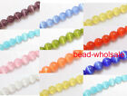 Wholesale Charms Round Cat's eye Spacer Beads Jewelry Findings 10 Color