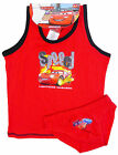 Boys Disney Pixar Red Vest and Underpants Set 2-8 Years Kids