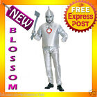 C212 Mens The Wizard of Oz Tinman Tin Man Halloween Fancy  Dress Adult Costume
