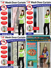 NEW MAGIC MESH MAGNETIC DOOR CURTAIN HANDS FREE FLY BUGS INSECT SCREEN