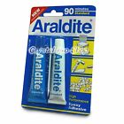 Araldite 90 min. AB Epoxy Adhesive Applicator Glue crystal gem model tool + GIFT