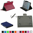 "Colorful Folio Claw Grip Case+Pen For 10.1"" iRulu/Zeki TB1082B Android Tablet PC"