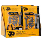 JCB TOOL SET ACCESSORY HAMMER SCREWDRIVER WRENCH SPANNER ROLE PLAY SET TOY