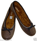 Gabor Home, Ballerina, Slippers, Comfortable Women's Shoes, Brown,
