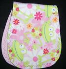 burp cloth girls double flannel handmade group1a