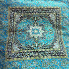 Turkish Ottoman Silk Ceramic Tapestry Pillow Cushion Hand Made Zippered Velvet-6