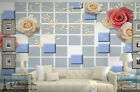3D Large Rose Flowers Wall Paper Wall Print Decal Wall Deco wall Mural Home Kids