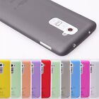 Ultra Thin Translucent Soft Pc Phone Protector Case Cover Skin for LG G2 D802
