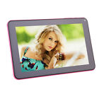 "iRULU 9"" Android 4.4 8GB Tablet PC Quad Core Dual Camera WiFi Pink + TF Card"