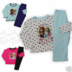 Girls Frozen Pyjamas Anna Elsa PJs Full Length Nightwear Kids 18M-10 Years New
