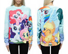 Women Men 3D My Little Pony T-shirt Sweatshirt 4 Sizes #S119